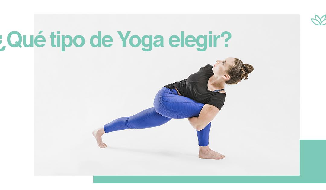 Tipos de Yoga: ¿cuál es el mejor para mí?